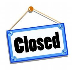 Image result for library closed