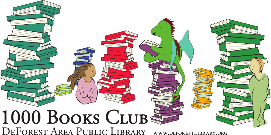 1000 books club logo
