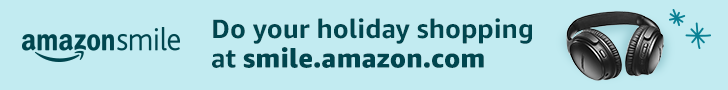 AmazonSmile donates to Friends of the Deforest Area Public Library when you do your holiday shoping at smile.amazon.com