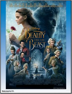 Beauty and the Beast Movie Poster Art Copyright Walt Disney Pictures