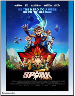 Spark: A Space Tail Movie Poster Art Copyright Open Road Films