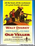 Old Yeller Movie Poster Art Copyright Walt Disney Pictures