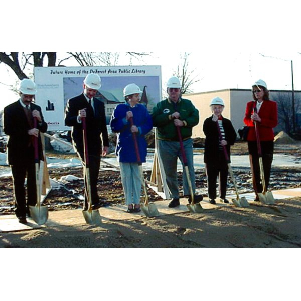 2001 - Ground Breaking Ceremony