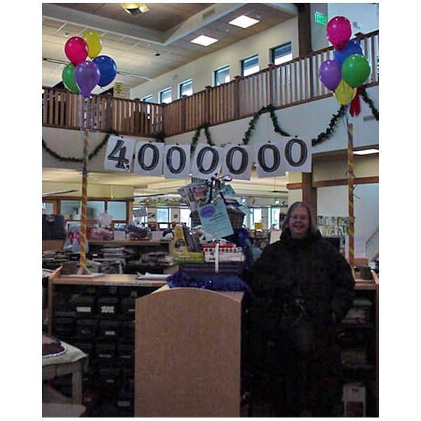2010 - 4 Million Checkouts